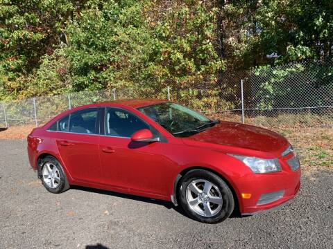 2012 Chevrolet Cruze for sale at Choice Motor Car in Plainville CT