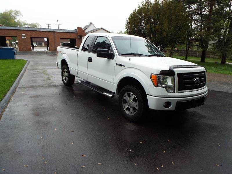 2009 Ford F-150 STX 4x4 4dr SuperCab Styleside 6.5 ft. SB - Canton OH