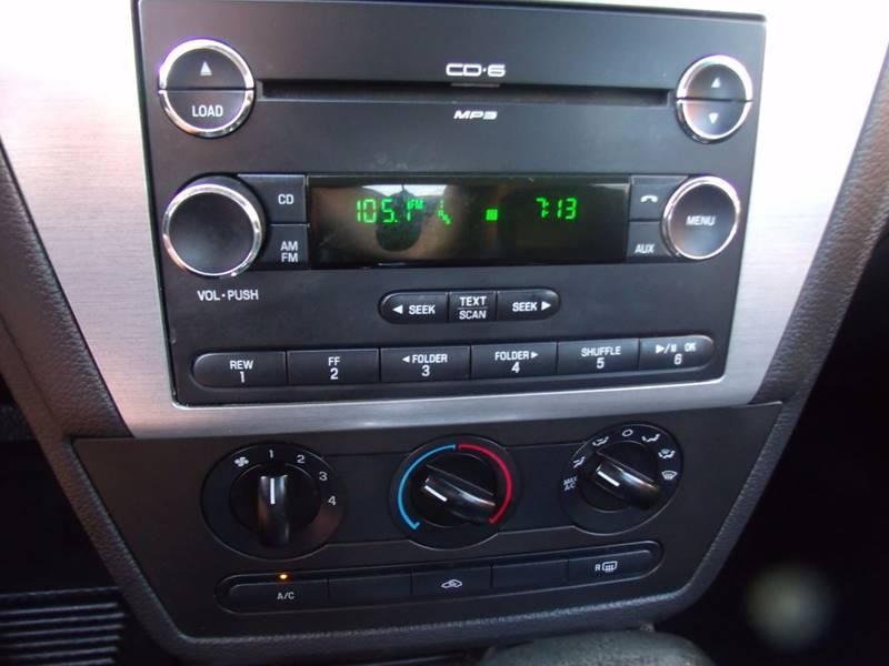2007 Ford Fusion I-4 SE 4dr Sedan - Canton OH