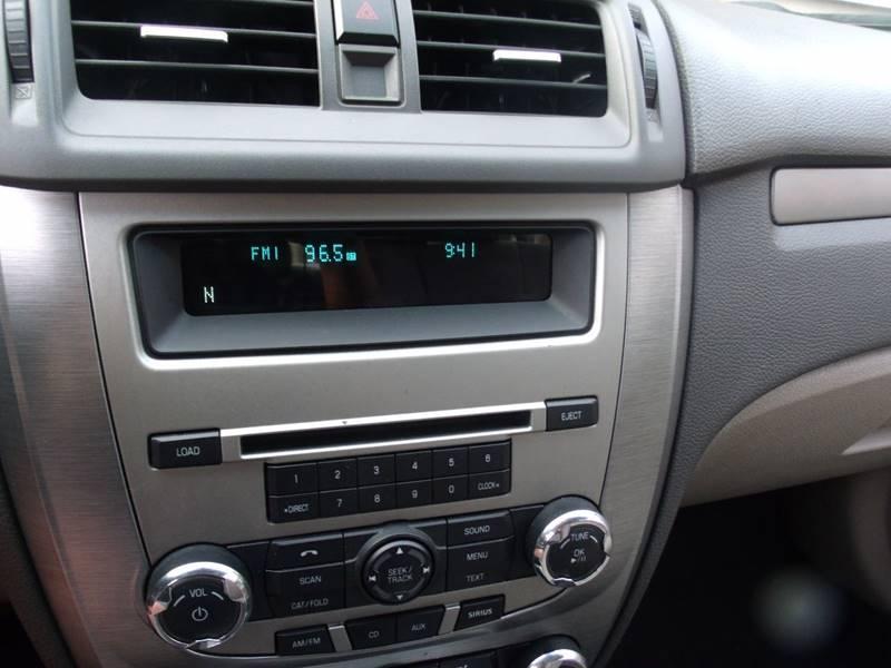2010 Ford Fusion SE 4dr Sedan - Canton OH