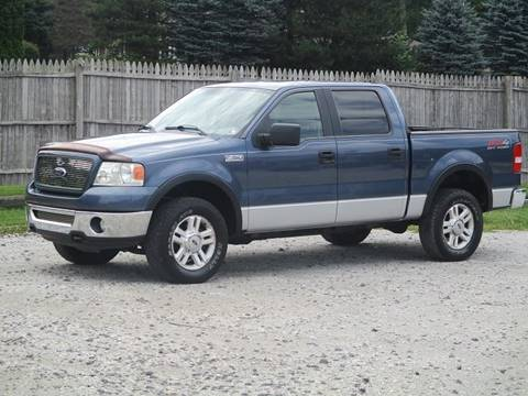 2006 Ford F-150 for sale at JEFF MILLENNIUM USED CARS in Canton OH