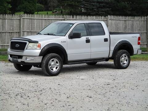 2004 Ford F-150 for sale at JEFF MILLENNIUM USED CARS in Canton OH