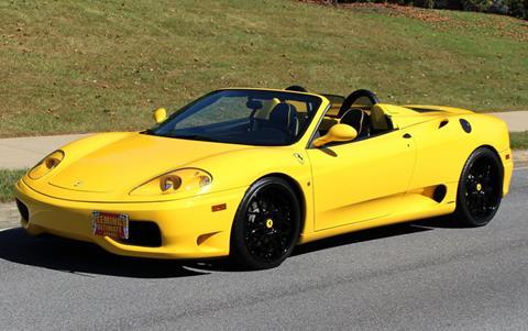 2003 Ferrari 360 Spider for sale in Rockville, MD