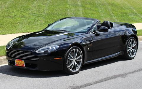 2010 Aston Martin V8 Vantage for sale in Rockville, MD