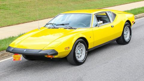 1974 De Tomaso Pantera for sale in Rockville, MD
