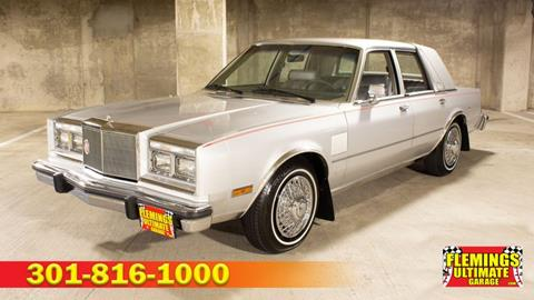 1985 Chrysler Fifth Avenue for sale in Rockville, MD