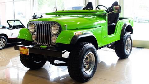 1974 Jeep CJ-5 for sale in Rockville, MD