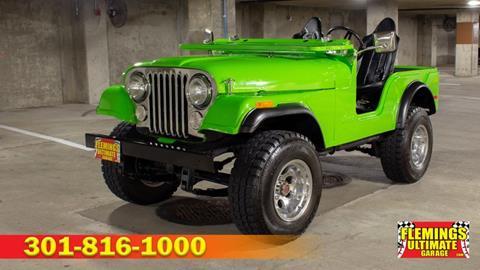 1974 Jeep CJ-5 for sale in Rockville, MD