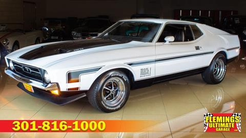 1971 Ford Mustang for sale in Rockville, MD
