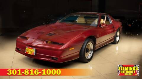 1988 Pontiac Firebird for sale in Rockville, MD
