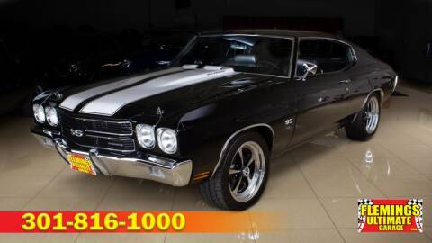 1970 Chevrolet Chevelle for sale at FLEMINGS ULTIMATE GARAGE in Rockville MD