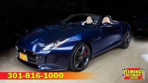 2015 Jaguar F-TYPE S for sale at FLEMINGS ULTIMATE GARAGE in Rockville MD