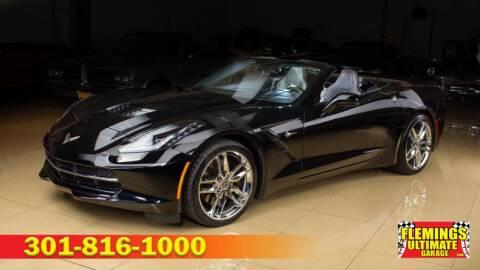 2015 Chevrolet Corvette Stingray Z51 for sale at FLEMINGS ULTIMATE GARAGE in Rockville MD