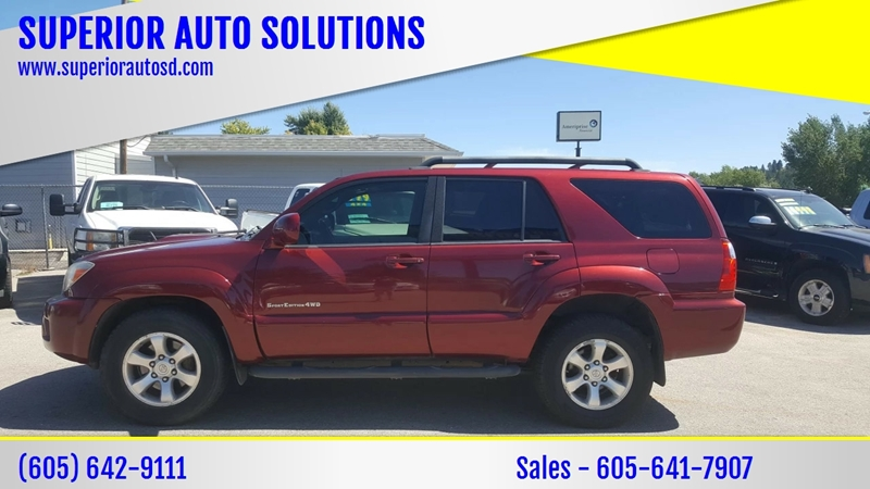 2009 Toyota 4Runner For Sale At SUPERIOR AUTO SOLUTIONS In Spearfish SD