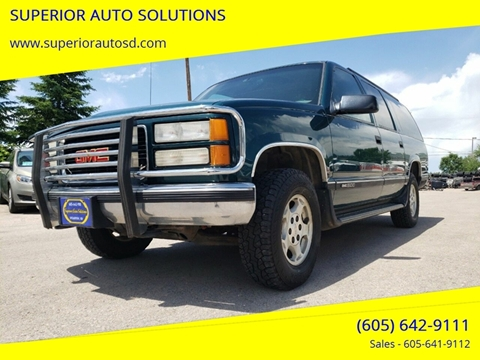 1997 GMC Suburban for sale in Spearfish, SD