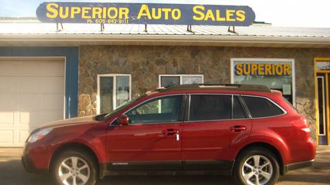 2013 Subaru Outback for sale in Spearfish, SD