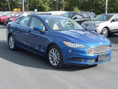 2017 Ford Fusion for sale in Bartonsville, PA