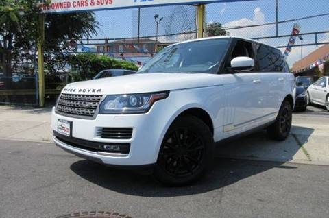 2015 Land Rover Range Rover for sale in Jamaica, NY