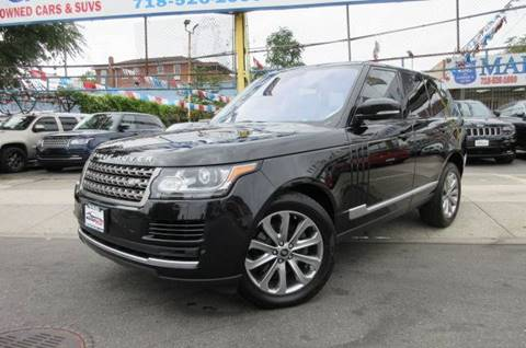 2016 Land Rover Range Rover for sale in Jamaica, NY