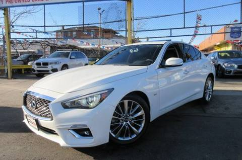 2018 Infiniti Q50 for sale in Jamaica, NY