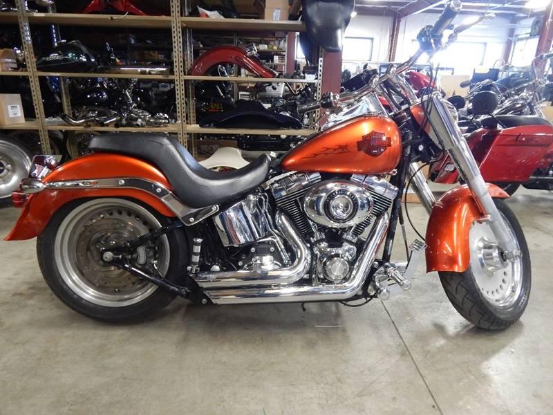 2007 harley-davidson flstf motorcycle in fort wayne in - premier