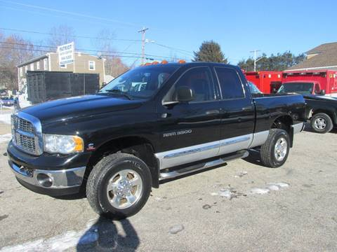 2005 Dodge Ram Pickup 3500 for sale at Patriot Truck Center in Johnston RI