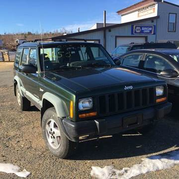 1998 Jeep Cherokee for sale at Classic Heaven Used Cars & Service in Brimfield MA
