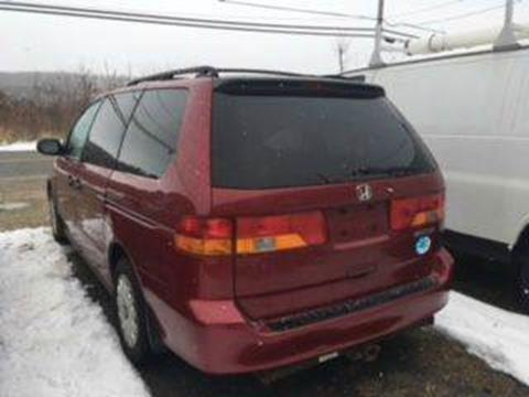 2002 Honda Odyssey for sale at Classic Heaven Used Cars & Service in Brimfield MA