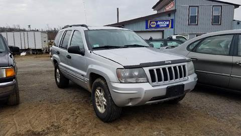 2004 Jeep Grand Cherokee for sale at Classic Heaven Used Cars & Service in Brimfield MA