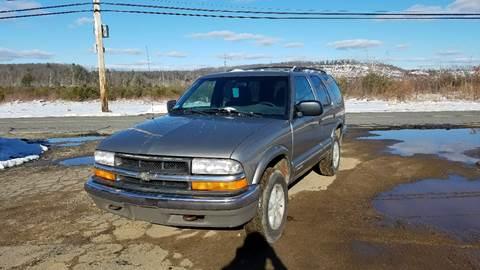 2000 Chevrolet Blazer for sale at Classic Heaven Used Cars & Service in Brimfield MA