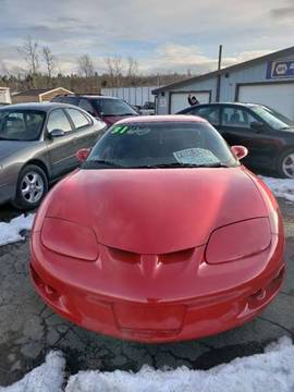 1998 Pontiac Firebird for sale in Brimfield, MA