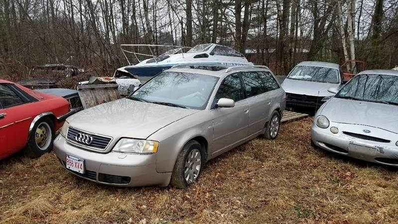 1999 Audi A6 for sale at Classic Heaven Used Cars & Service in Brimfield MA