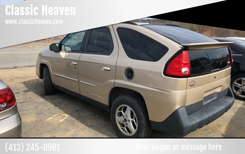 2004 Pontiac Aztek for sale in Brimfield, MA