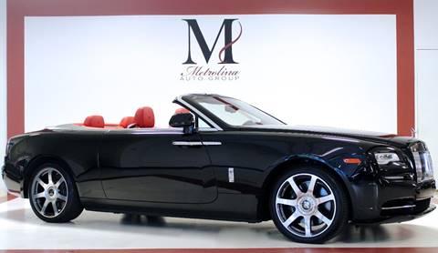 2016 Rolls-Royce Dawn for sale in Charlotte, NC