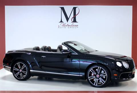 2014 Bentley Continental GTC V8 for sale in Charlotte, NC