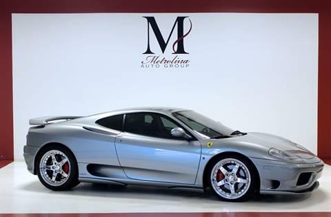 2000 Ferrari 360 Modena for sale in Charlotte, NC