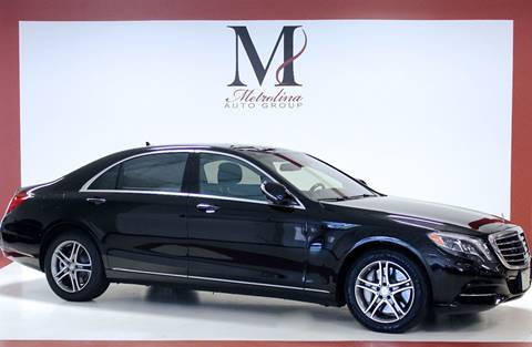 2016 Mercedes-Benz S-Class for sale in Charlotte, NC