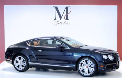 2013 Bentley Continental GT V8 for sale in Charlotte, NC