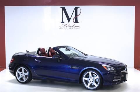 2015 Mercedes-Benz SLK for sale in Charlotte, NC