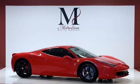 2014 Ferrari 458 Italia For Sale In Charlotte, NC
