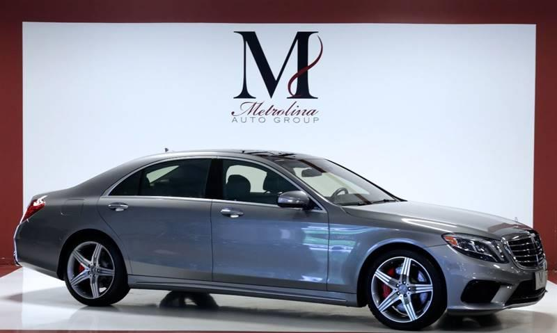 2015 mercedes-benz s-class awd s 63 amg 4matic 4dr sedan in