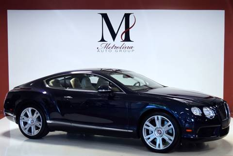 2013 Bentley Continental for sale in Charlotte, NC