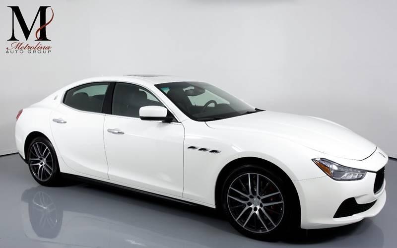 2015 Maserati Ghibli 4dr Sedan In Charlotte Nc Metrolina