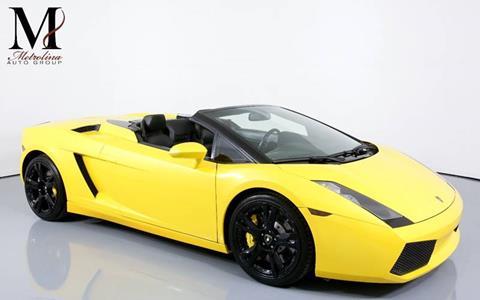 Used 2006 Lamborghini Gallardo For Sale In Lafayette La