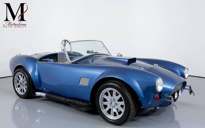 Cobra Kit Car >> 1965 Shelby Cobra Kit Car In Charlotte Nc Metrolina Auto Group