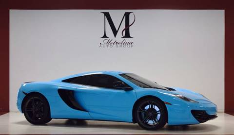 2012 McLaren MP4-12C for sale in Charlotte, NC
