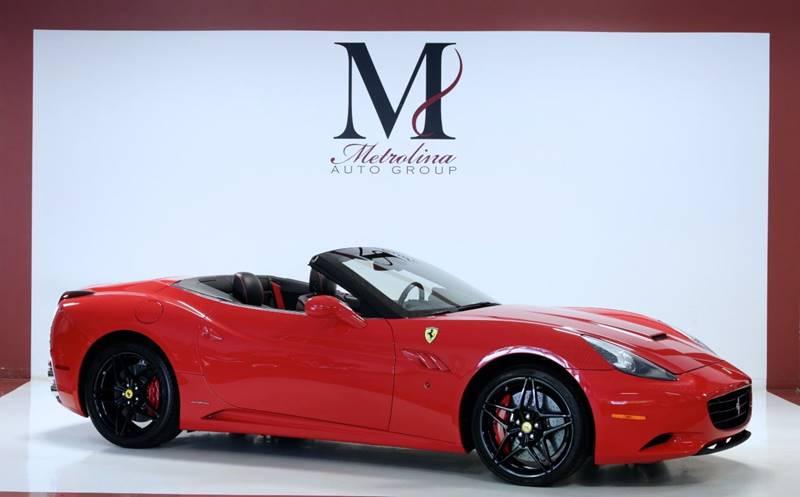 2013 Ferrari California 2dr Convertible In Charlotte Nc Metrolina