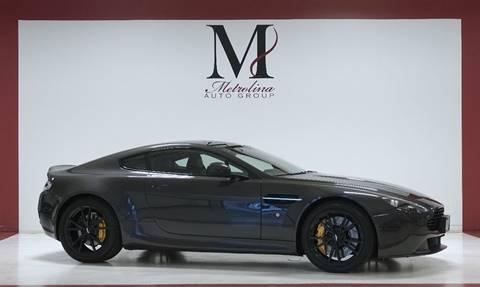 2013 Aston Martin V8 Vantage for sale in Charlotte, NC