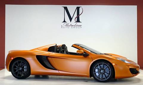 2014 McLaren MP4-12C Spider for sale in Charlotte, NC