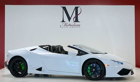 2016 Lamborghini Huracan for sale in Charlotte, NC